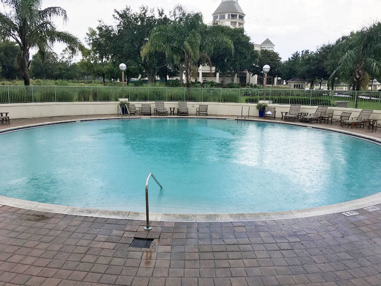 review of the renaissance resort at world golf village - pool area