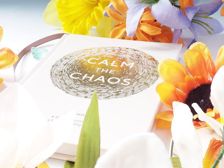 the Calm the chaos journal, a solution to journaling for busy families