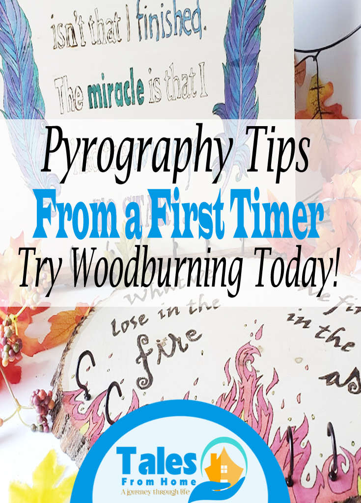 pyrography tips from a first timer #pyrography #woodburning #art #crafts #artsandcrafts #trysomethingnew #hobby #fun