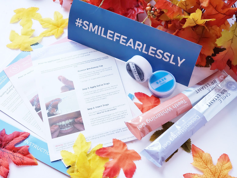 teeth whitening tray kit contents