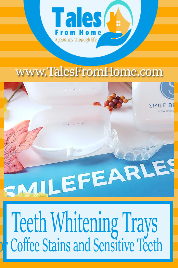 Teeth whitening trays for sensitive and coffee stained teeth #teethwhitening #stainedteeth #athometeethwhitening #teethwhitening #smilefearlessly #smilebrilliant
