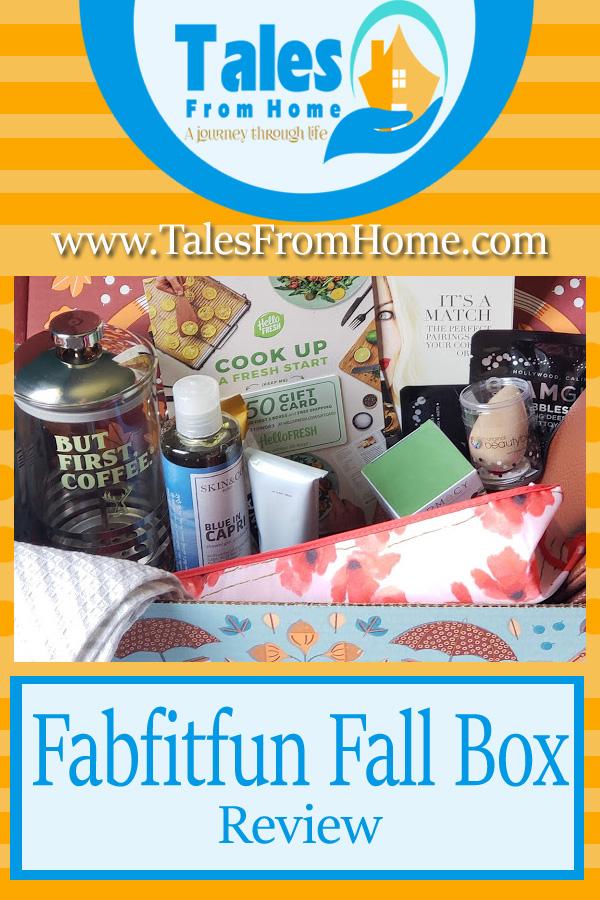 fabfitfun fall box review! #fabfitfun #fabfitfunpartner #productreview #review #subscriptionbox #fallbox