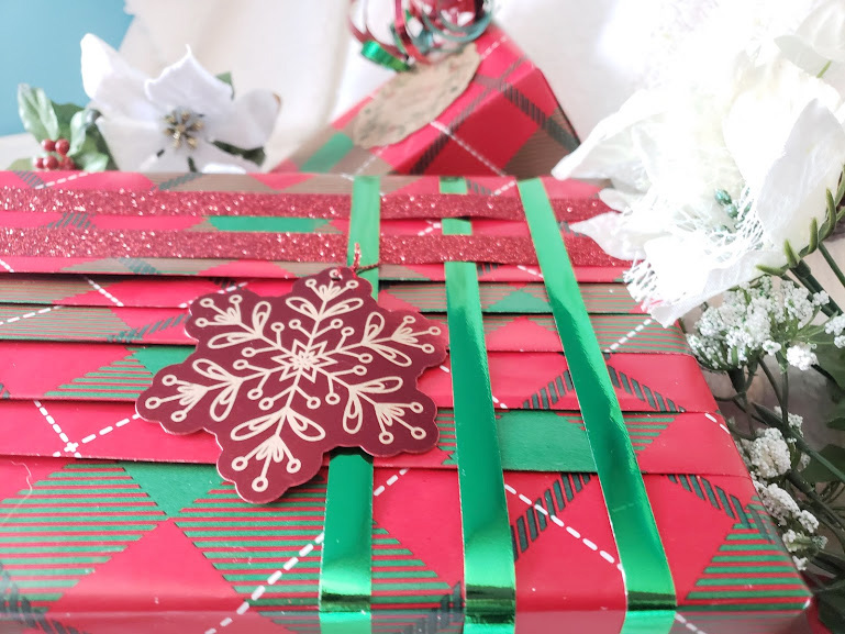 gift wrapping tips pleated wrapping