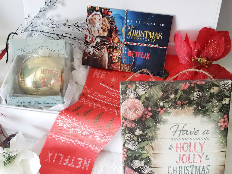 Getting into the christmas Spirit with this netflix gift box