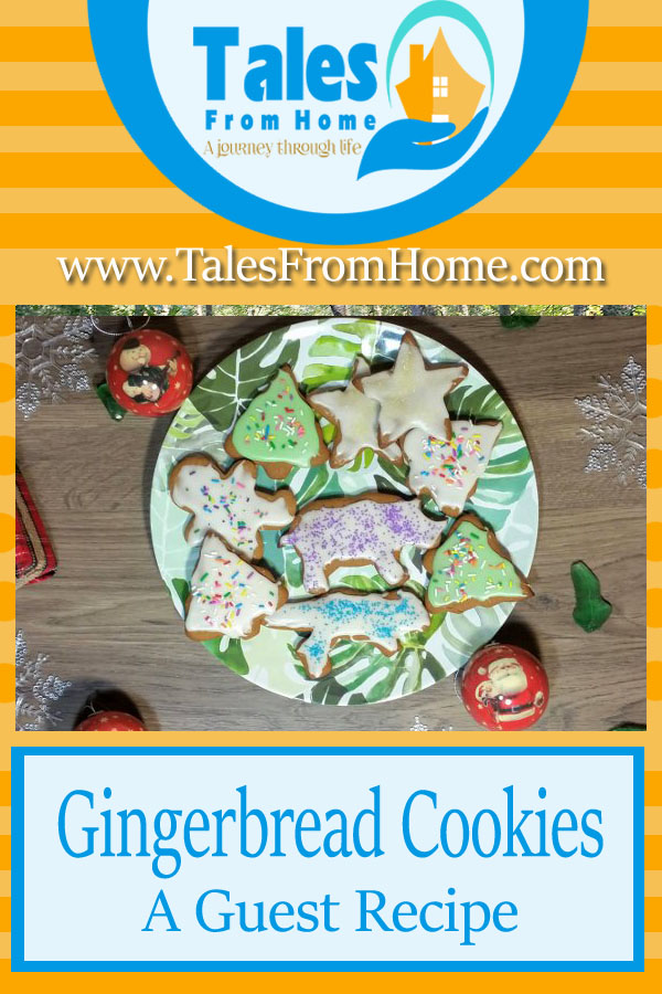 Gingerbread Cookies, a Guest recipe from www.insecurehousewife.com #Cookies #christmas #reciipe #holidaycooking #holidays