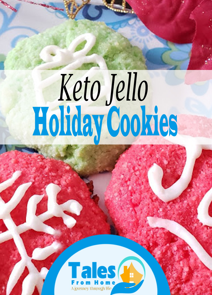 Keto Jello Cookies #keto #ketorecipe #ketogenic #ketogenicdiet #ketolife #cookierecipe #christmascookies #holidayrecipes #holidaycookies