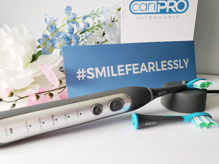 the cariPRO Ultrasonic Toothbrush from Smile Brilliant