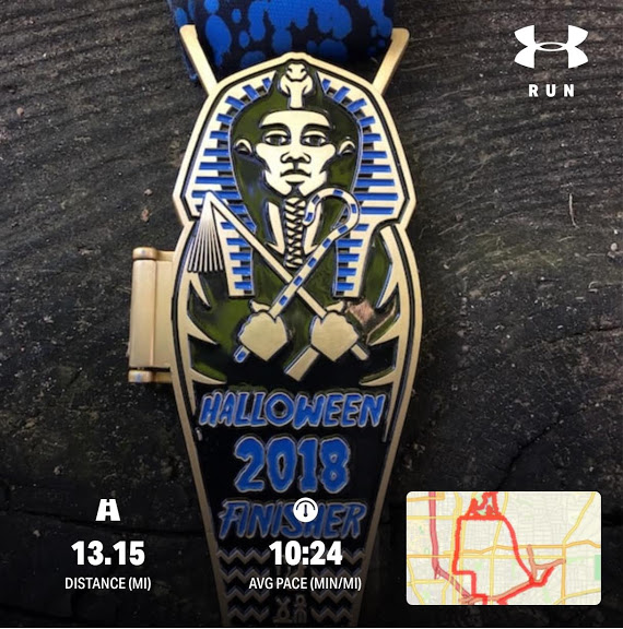 Marathon Training, half marathon times