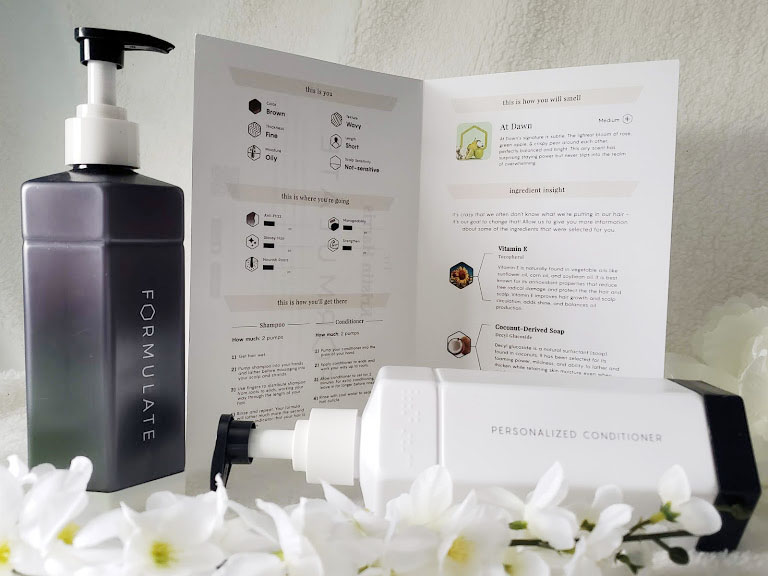 personalized shampoo from formulate