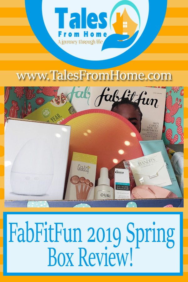 2019 Spring box review for FabFitFun! #Fabfitfun #fabfitfunpartner #subscriptionbox #productreview #review #selfcare #Beauty