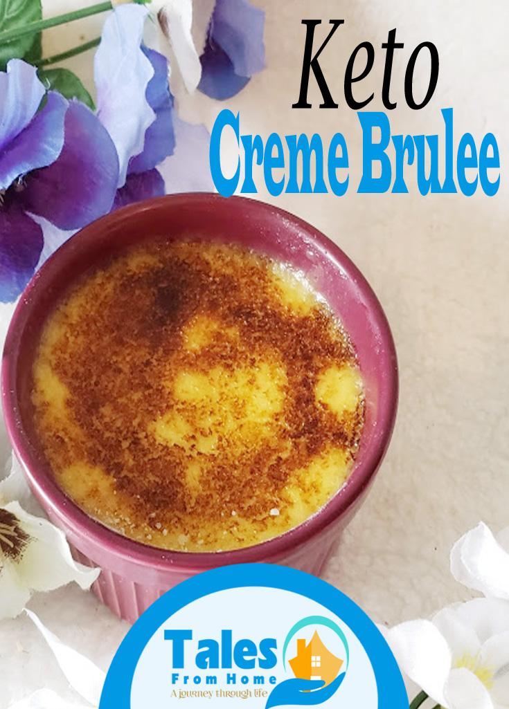 Keto Creme Brulee #keto #ketorecipe #ketodessert #cremebrulee #recipes #lchf #lowcarb