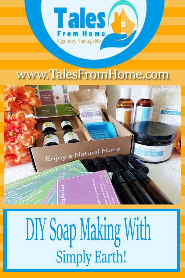 DIY Soap Making with Simply Earth! A fun craft and potential gift idea! #DIY #Soap #crafting #subscriptionbox #productreview #essentialoils #oils #scents