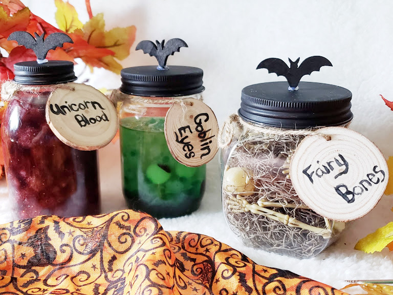 DIY Potion Jars