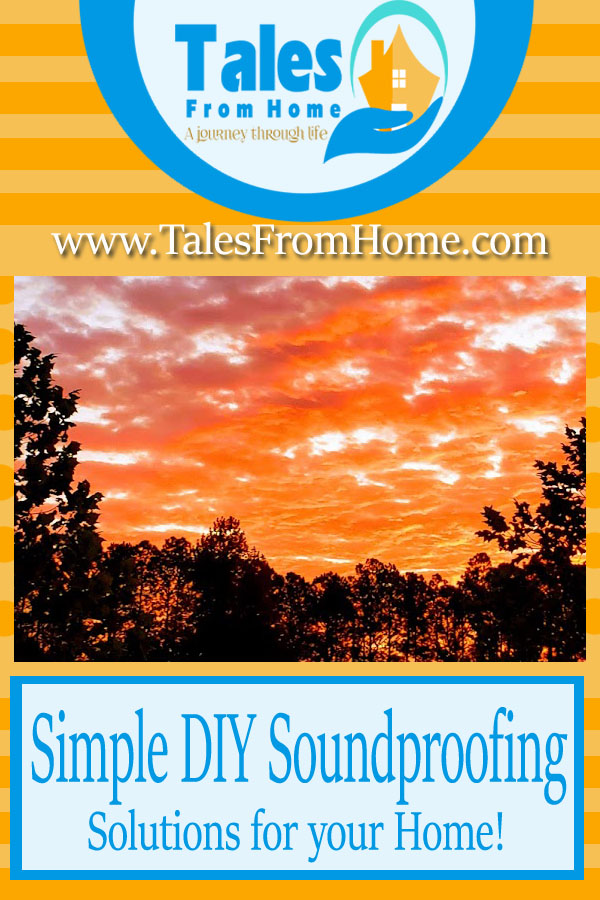 Soundproofing your home and finding some tranquility #DIY #Homeimprovement #projects