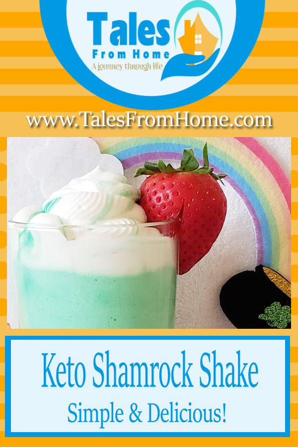 Keto Shamrock Shake, Simple and Delicious! #keto #ketotreat #ketoshake #ketodessert #ketorecipes #lchf #lowcarb