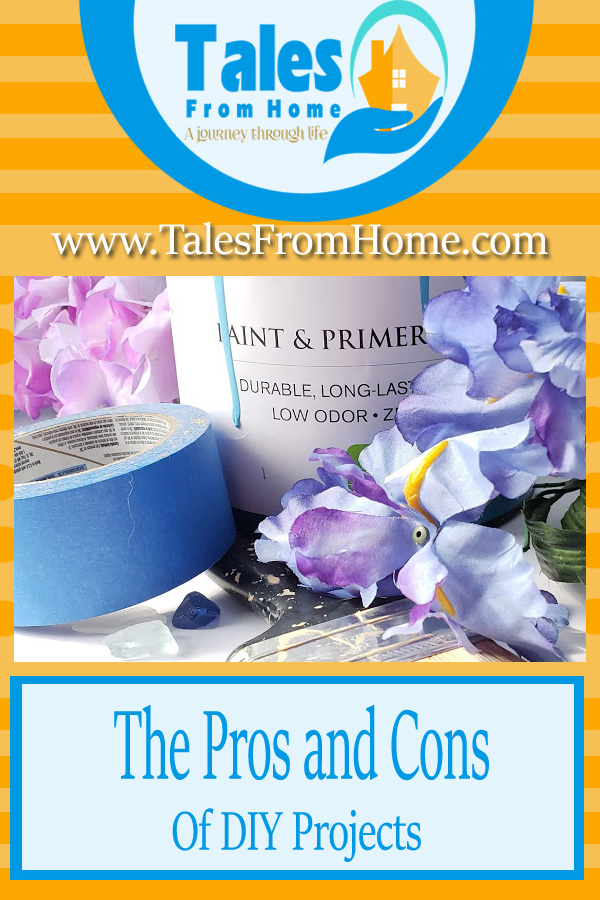 The Pros and Cons of DIY projects #DIY #homeimprovement #Homeandgarden #crafting