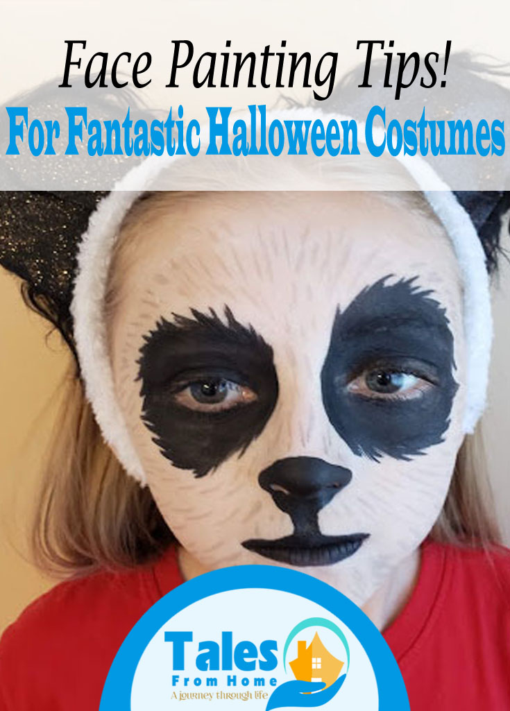 Facepainting Tips for Fantastic Halloween Costumes! #Halloween #facepainting #halloweencostumes #costumes #kids #family