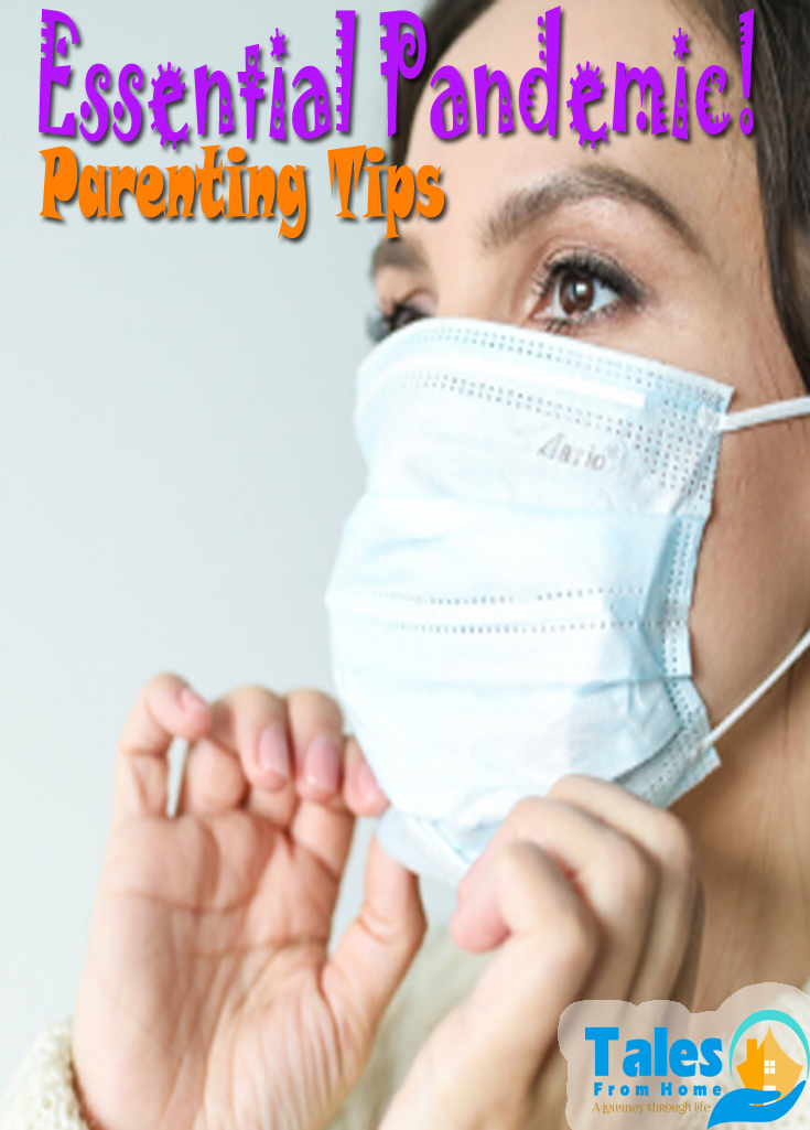 Essential Pandemic Parenting Tips that we could all use right about now! #family #kids #covid2020 #covid19 #pandemic #health #healthyliving