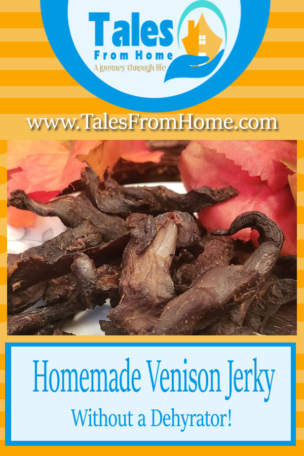 Homemade Venison Jerky is a delicious treat for everyone in the family! It's surprisingly simple to make too! #Jerky #venison #venisonjerky #homesteading #countryliving #Hunting #deerjerky