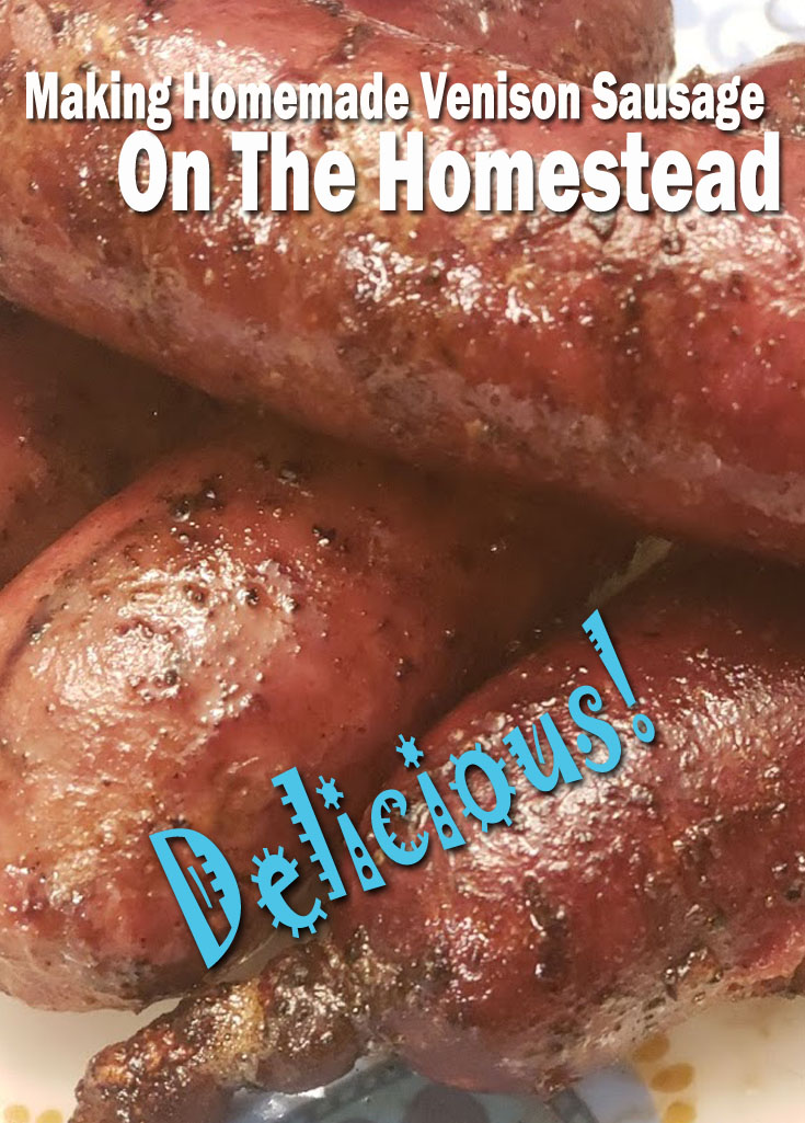 Making Homestead Venison Sausage On the Homestead! Delicious and Worth It! #homesteading #venison #countryliving #cooking #sausage #Grilling