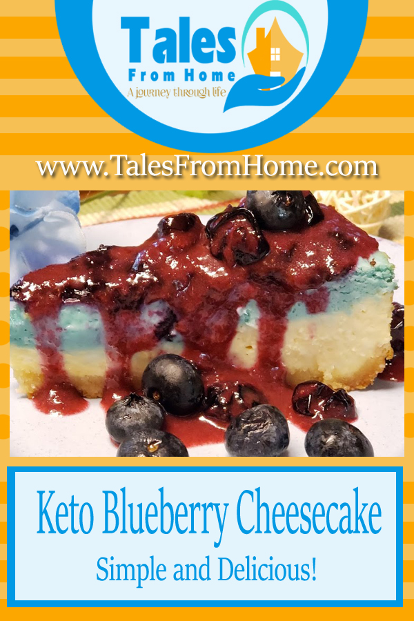 Simple and delicious keto blueberry cheesecake that anyone can make! #keto #ketoblueberrycheesecake #cheesecake #blueberry #lchf #lowcarb #healthyeating #weightloss #cooking #recipe