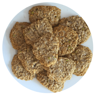 Curbing That Sweet Tooth: Healthy Apple Oatmeal Cookies