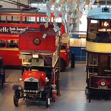 London Transport Museum: A Toddler's Paradise