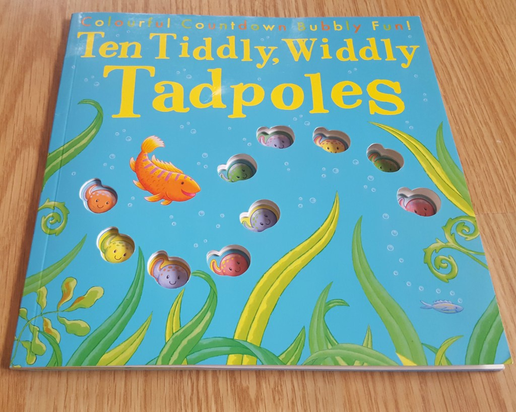ten tiddly widdly tadpoles - counting book for toddlers