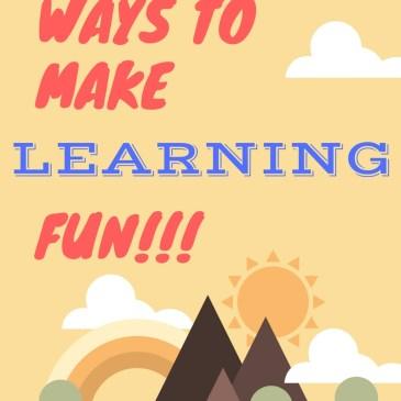 5 Simple Ways to Make Learning Fun