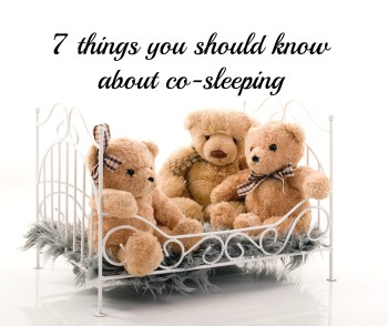 7 things you should know about co-sleeping