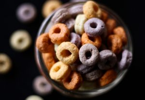 Cheerio Alphabet Food