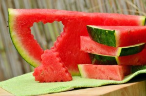 Watermelon Alphabet Food