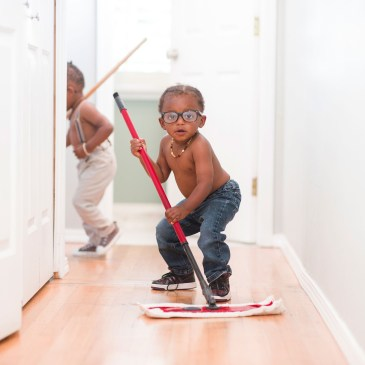 How to distribute cleaning chores among kids (so no-one is annoyed!)