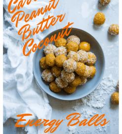 Carrot-Peanut Butter-Coconut Energy Balls