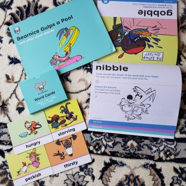 Learning to read and write with Mrs Wordsmith: Review