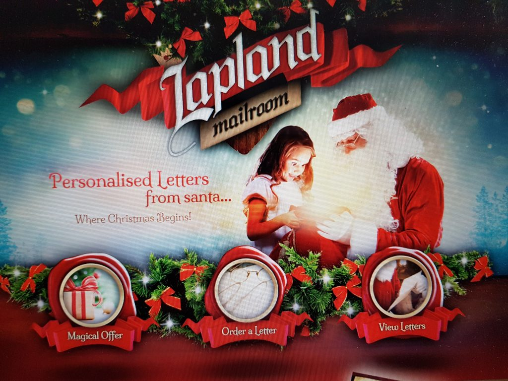 Gift your child a personal letter from Santa: Lapland Mailroom Review + Giveaway