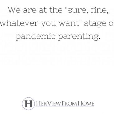 The Rules of 'Pandemic Parenting'