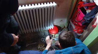 Fitting the radiators