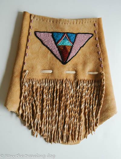 beaded dog jacket,beadwork