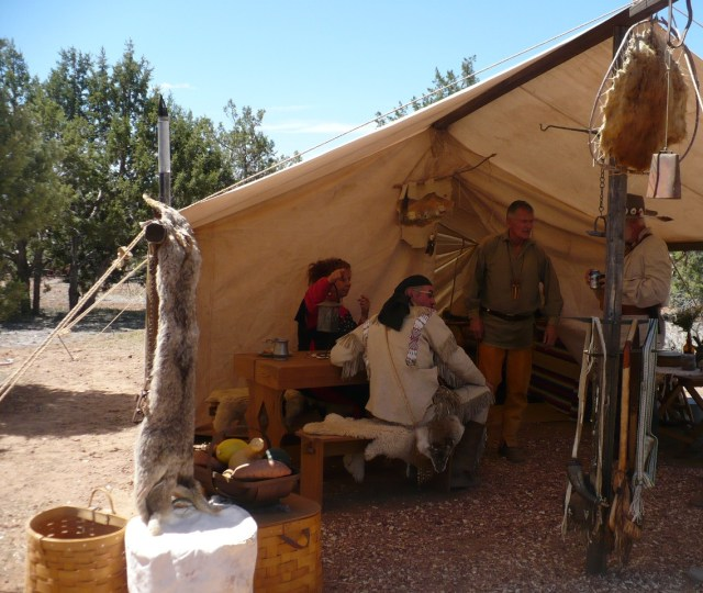 Mountain man rendezvous, anasazi free trappers