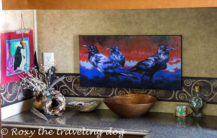 Art in the RV from Fulcrum Gallery