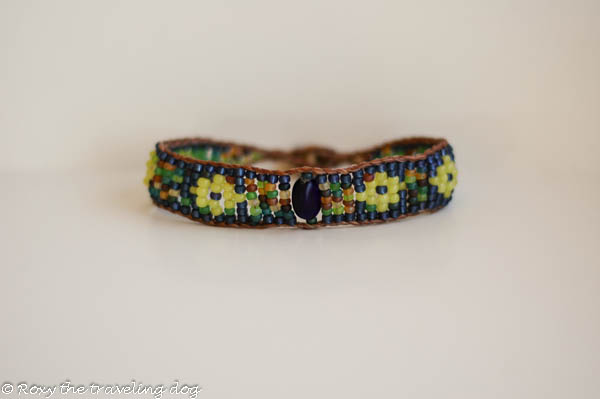 Roxy Doggie Necklace,beaded bracelet
