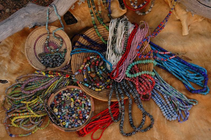 trade beads,mountain man rendezvous