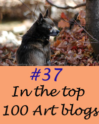 #37 in top 100 art blogs to follow