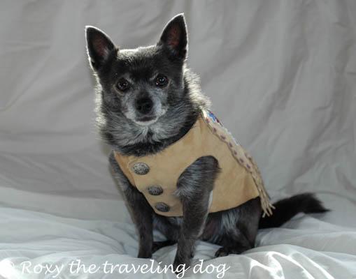 Roxy's beaded buckskin jacket