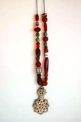 Roxy's boutique, trade bead necklace