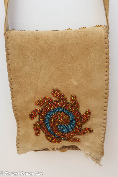 beadwork, purse