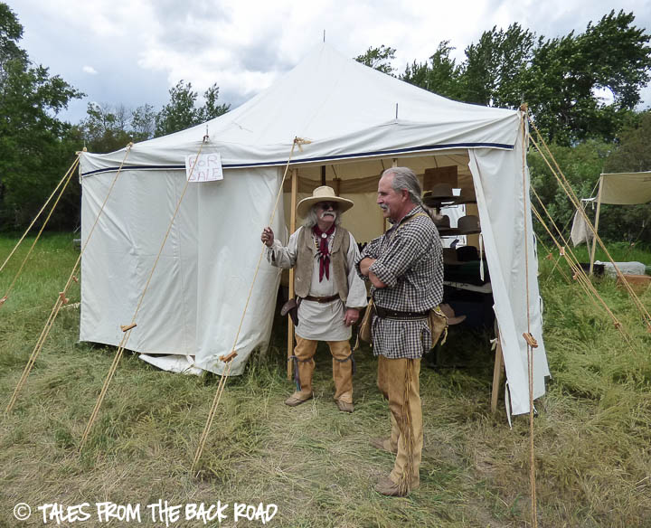 Camp Henry mountain man rendezvous hat maker