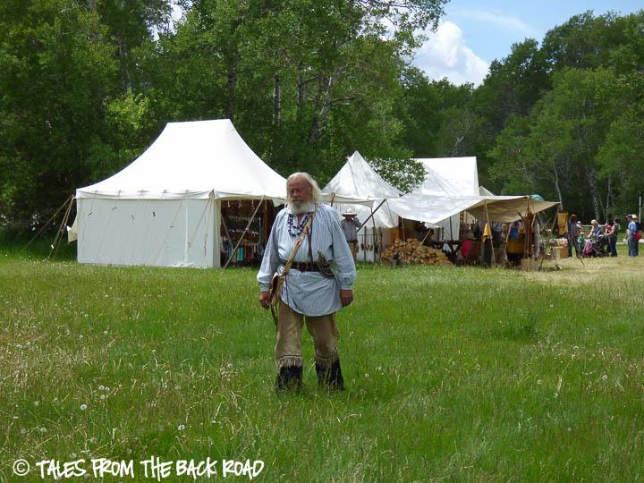 Camp Henry mountain man rendezvous mountain man