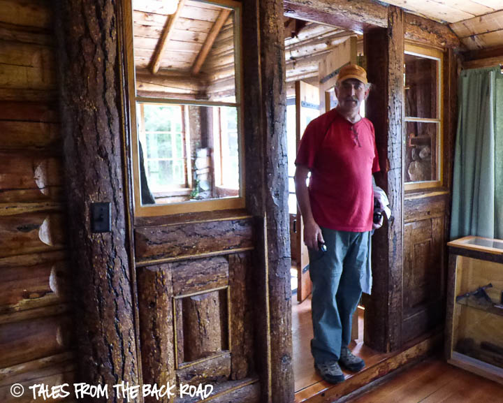 Inside the Johnny Sack cabin